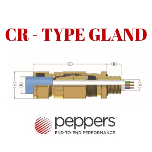 CR TYPE GLAND PEPPERS