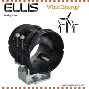 Ellis Cable Guide Clamp Wind Energy